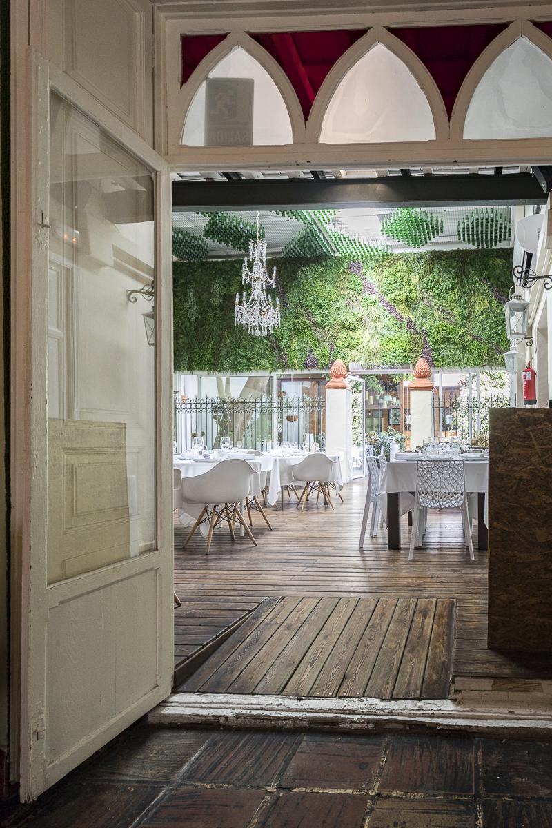 Vista al salón principal Restaurante Visconti. Fotografía @GITANETA