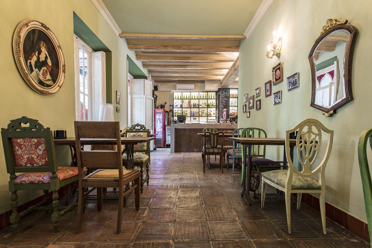 Habitación Verde. Zona Gastro en Restaurante visconti. Fotografía @GITANETA
