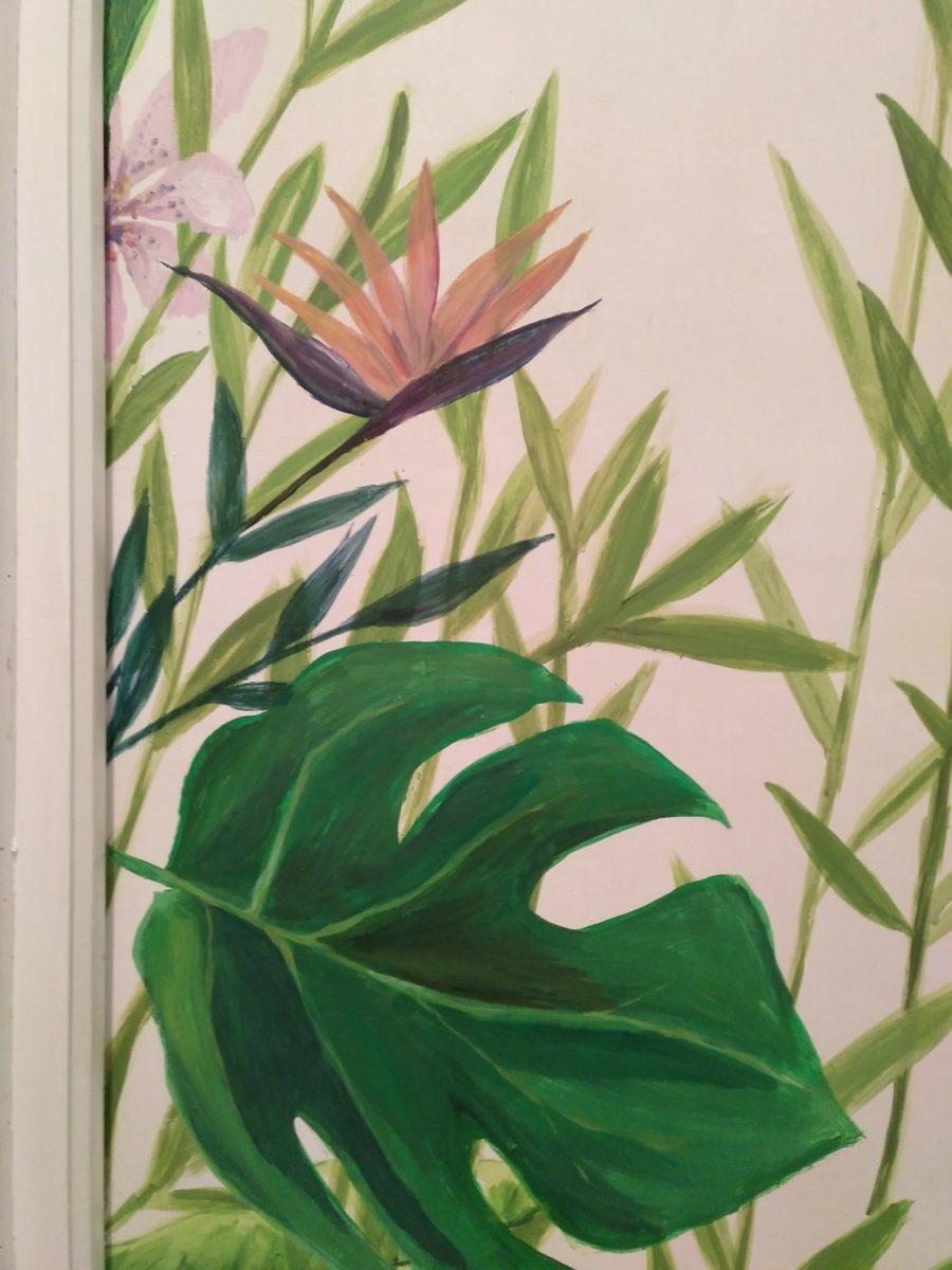 pintura artística en puertas por Inma gregori